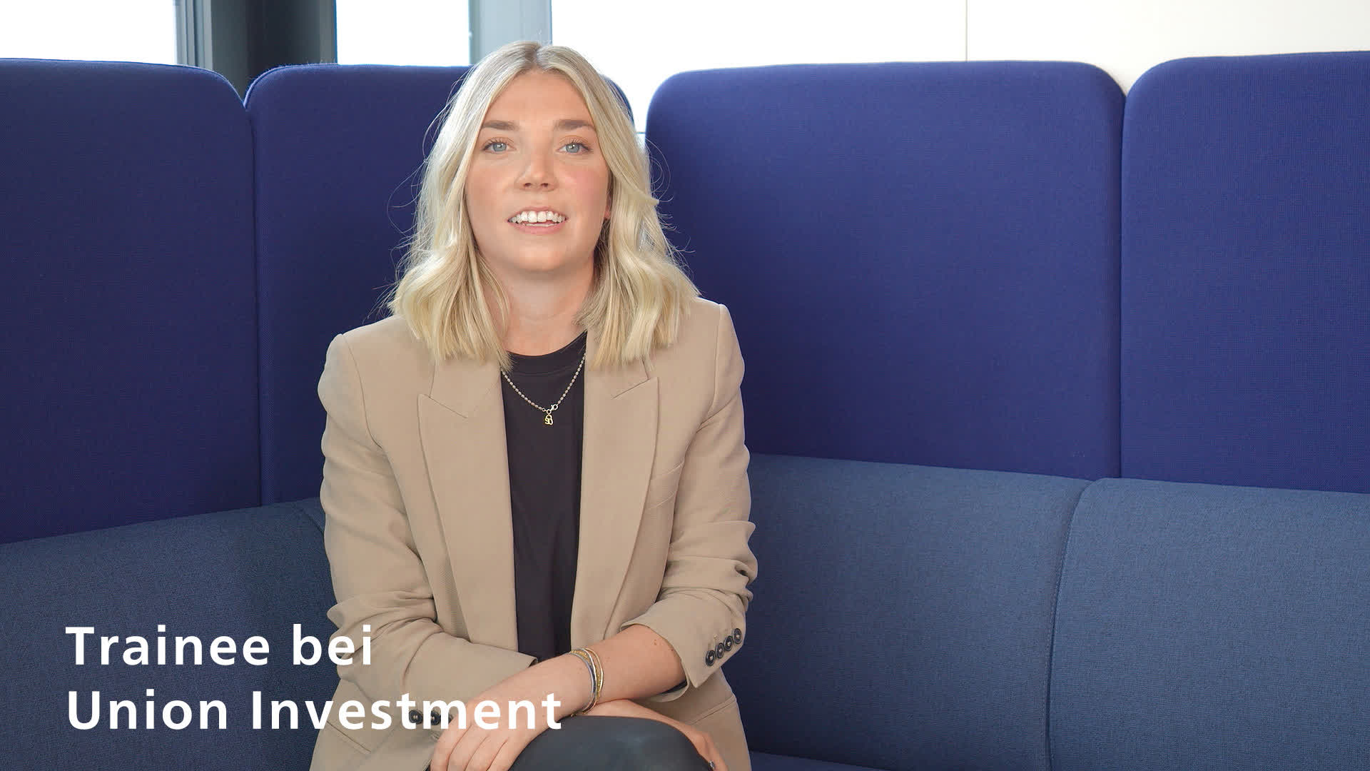 Helena Irmscher, Trainee bei Union Investment
